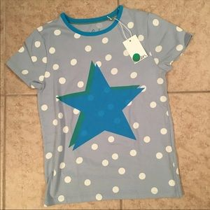 NEW! Mini Boden Star Layering Tee: 8-9Y